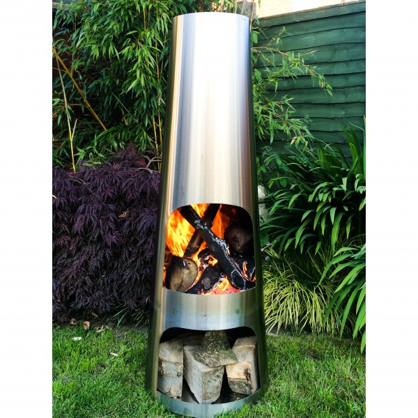 Home Made Chiminea Chimney Extension